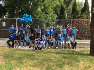 Chino Hills - CVUSD Alternative Education Center - Group photo of people wearing blue