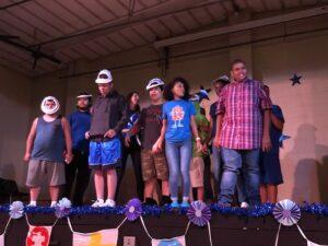 Chino Hills - CVUSD Alternative Education Center - Students on stage